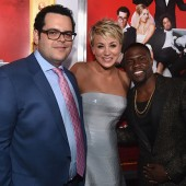 Josh Gad, Kaley Cuoco-Sweeting and Kevin Hart