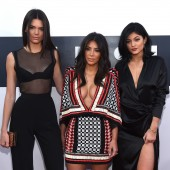 Kim K with KUWTK Sisters Kendall and Kylie Jenner