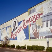 Scott Joplin Mural, Texarkana Expects Four Week Restoration in Downtown District