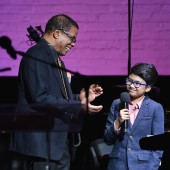 Herbie Hancock and Joey Alexander