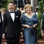 Chancellor Angela Merkel & Joachim Sauer