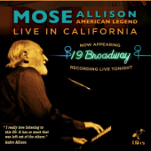 'American Icon: Live In California' by Mose Allison
