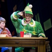 'Elf' The Musical At The Al Hirschfeld Theatre