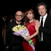 Composer David Lang, singer Sumi Jo and director/screenwriter Paolo Sorrentino