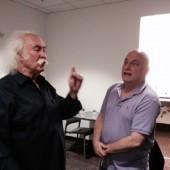 David Crosby and Mike Greenblatt in Harmony