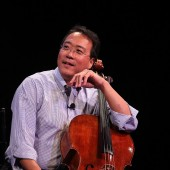 Cellist Yo-Yo Ma