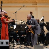 Dee Dee Bridgewater and Branford Marsalis perform with The New Orleans Jazz Orchestra
