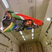 Mark Shuttleworth Experiences Zero Gravity