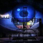 Rehearsal of Giacomo Puccin's 'Tosca'