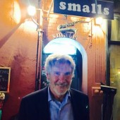 Watch Harrison Ford Sport a 'Jazz Face' at Smalls in New York City
