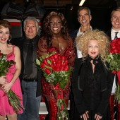 Cyndi Lauper, Harvey Fierstein & Jerry Mitchell Celebrate L.A. Premiere Of 'KINKY BOOTS' At Hollywood Pantages