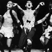 Alan Cumming in the 1998 Broadway revival of 'Cabaret'