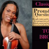 EXCLUSIVE: Transgender Violinist and Singer Tona Brown Takes Classicalite's Proust Questionnaire