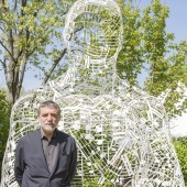 "Made of Music: Spanish Sculptor Jaume Plensa Unveils ""Silent Music"" Sculpture at Ravinia"