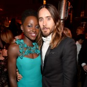 Jared Leto and Lupita Nyong'o