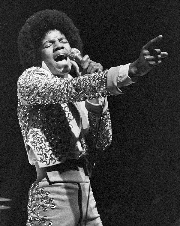 File photo of pop star Michael Jackson performing during a show at the Mill Run Playhouse
