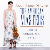 Violinist Anne Akiko Meyers to Release New Album, 'The American Masters,' Featuring Works by Barber, Corigliano and Mason Bates