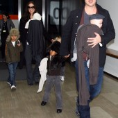 Brand Pitt, Angelina Jolie and the Family