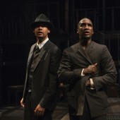 Eric Lynch and Jerod Haynes in 'Native Son' at Chicago's Court Theatre