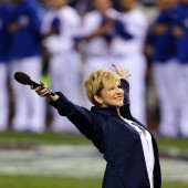 Joyce DiDonato Gets Premiere of a Lifetime--Sings National Anthem at Game 7 of World Series, Falls but Stuns Audiences