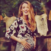 Blake Lively Pregnant Baby Bump