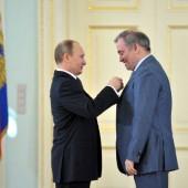 Valery Gergiev and  Vladimir Putin