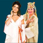 Muhabbat Shamayeva and Galeet Dardashti