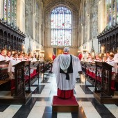 EXCLUSIVE: Stephen Cleobury on the Choir of King's College, Cambridge