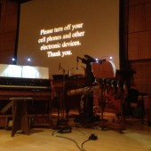 Watch Beowulf, Harry Partch from David Lang's 'Collected Stories: Heroes' @ Carnegie Hall...Next to WQXR's Strauss, Sibelius