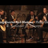 The Dublin String Quartet has released a new recording of Philip Glass' string quartets on the artist's own Orange Mountain Music label.